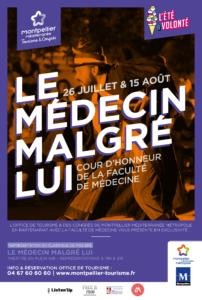 Affiche Médecin malgré lui à Montpellier