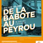 NOUVEAU-Balade animée de la Babote au Peyrou