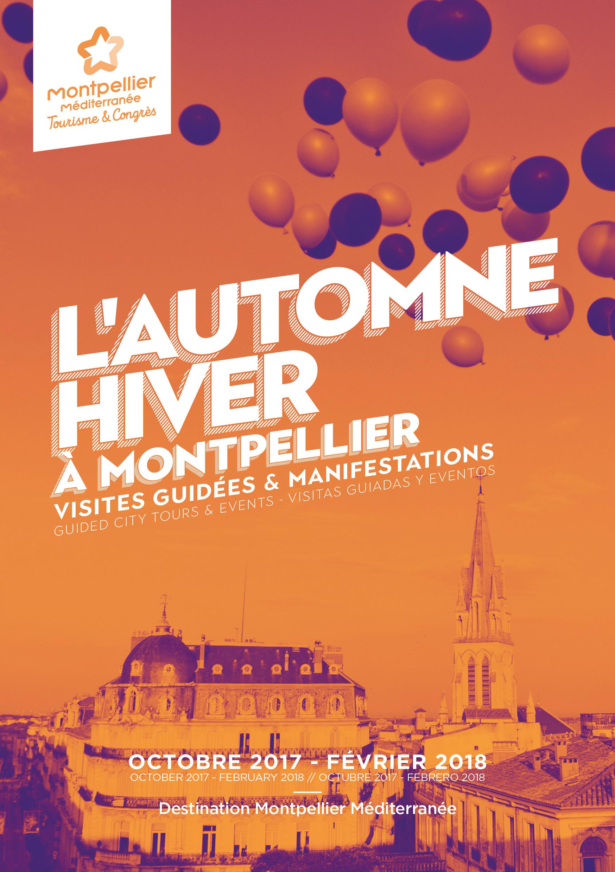 programme des visites guidées automne hiver Montpellier