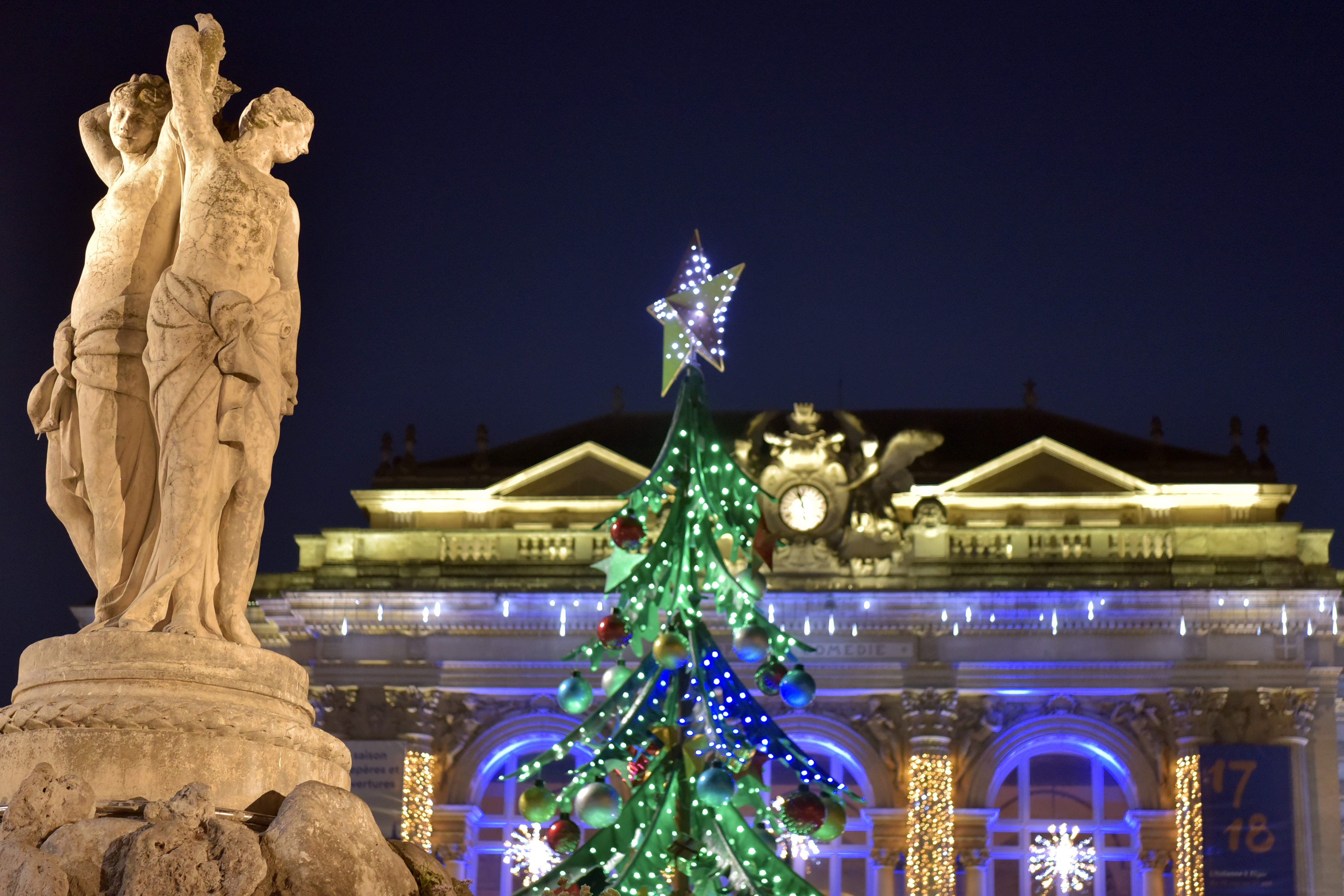 Noel à Montpellier 2017