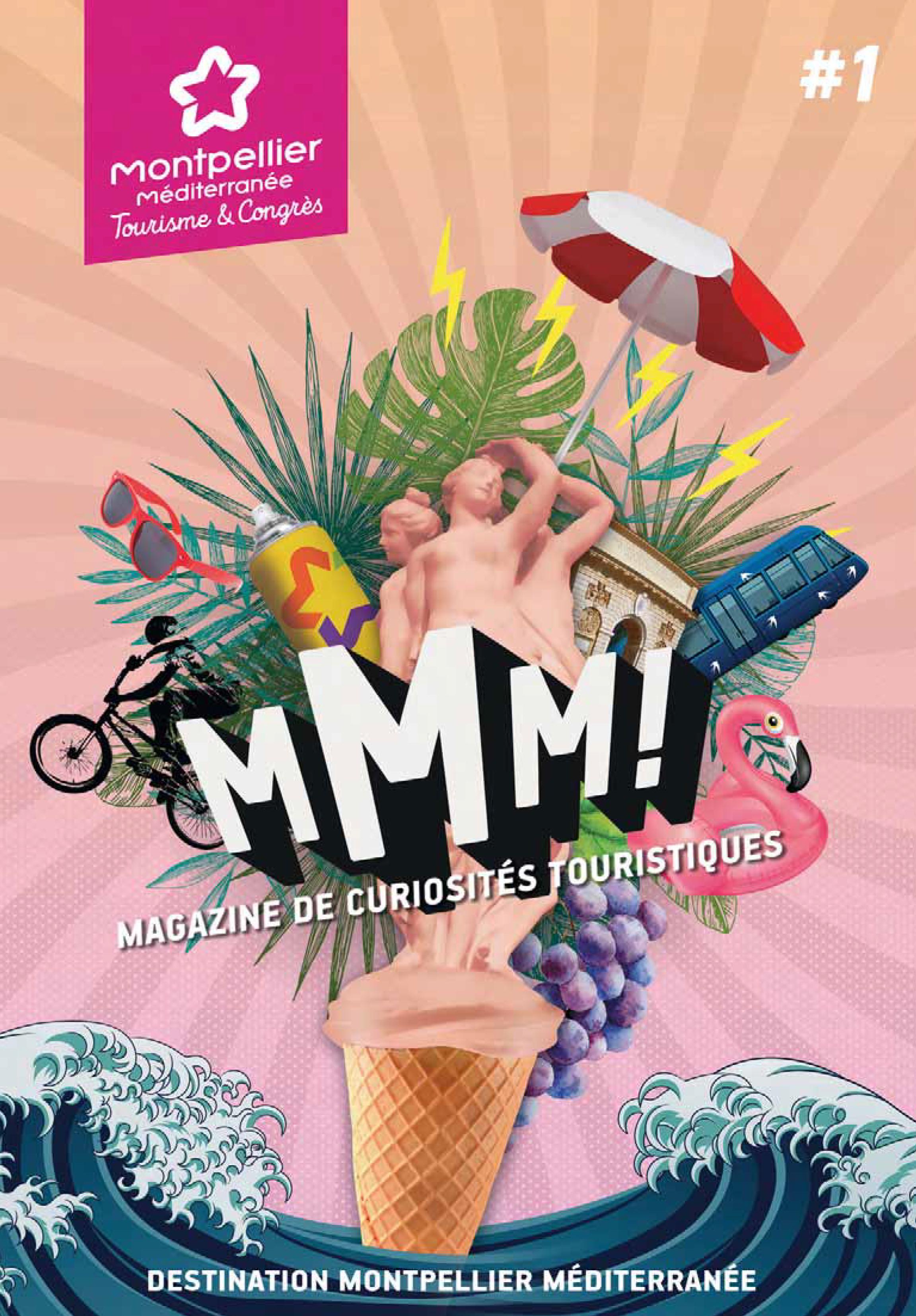 MMM le magazine séduction Montpellier Méditerranée Tourisme & Congrès