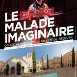 NOUVEAU ! Le Malade Imaginaire, 6 représentations théâtrales en plein air au sein de la Faculté de Médecine
